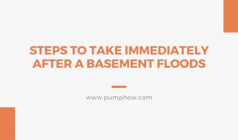 Basement Flooding What To Do: 10 Steps To Take Immediately