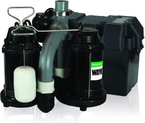 Wayne WSS30VN Upgraded Combination Sump Pump And Battery Backup System