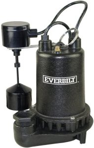 Everbilt ¾ HP PSSP07501VD Professional Sump Pump Review