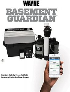 WAYNE BGSP50 Guardian Premium Wi-Fi Connected Total Basement Protection System