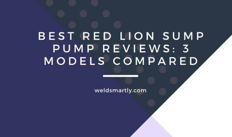 Best Red Lion Sump Pump Reviews [3 Models Compared]