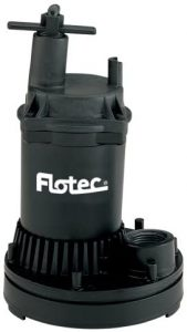 Flotec FP0S1250X-02 Fp0S1250X-08 General Purpose Water Removal Utility Pump