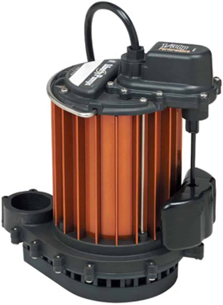 Liberty 237 Sump Pump Reviews: 1/3 HP with VMF Switch
